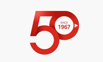창립 50주년 엠블럼 디자인